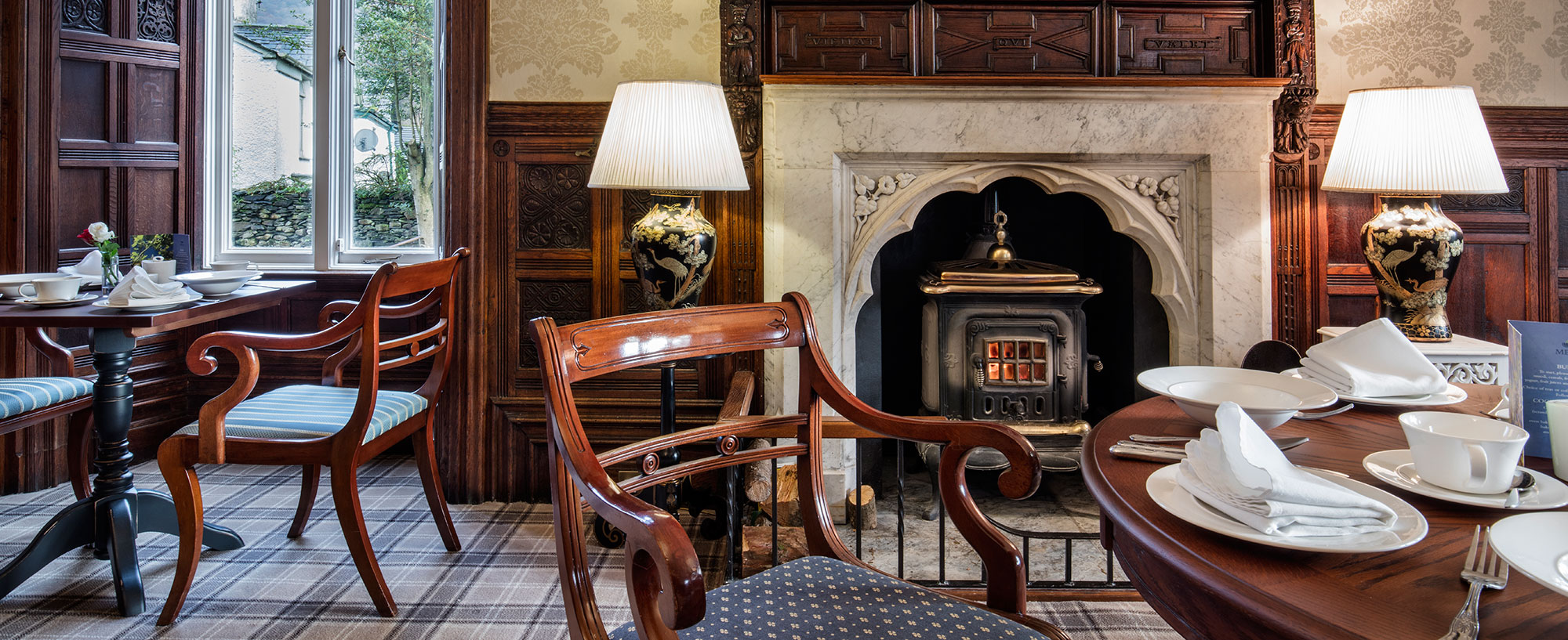 Ambleside Manor Breakfast Lounge